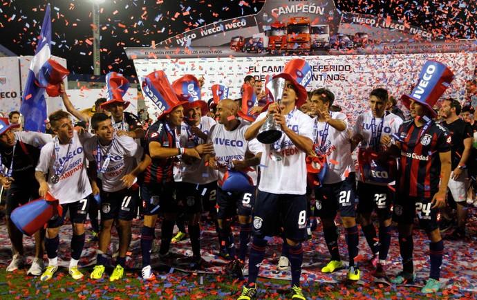 Comemoração San Lorenzo (Foto: Reuters)