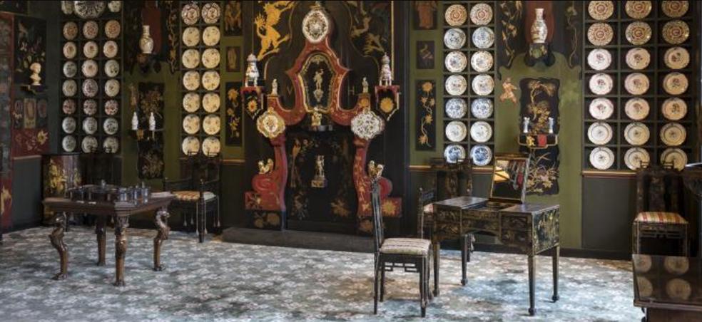Parte do Museu Maison de Victor Hugo, em Paris (Foto: Reprodução/Felipe Vinha)
