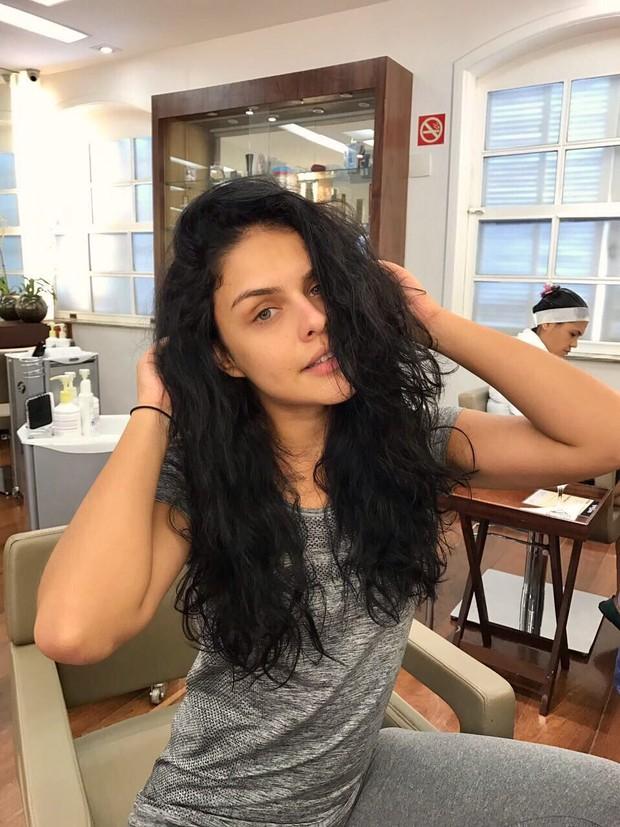 Paloma Bernardi cuida do cabelo (Foto: Arquivo Pessoal/Divulgação)