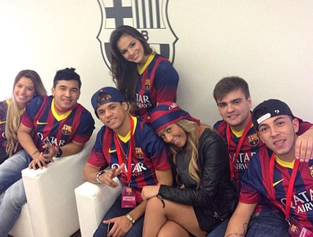 Marquezine camisa Barcelona (Foto: Reprodução / Instagram)