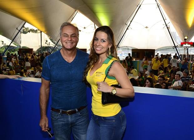Kadu Moliterno e Dani Lins (Foto: Roberto Teixeira/EGO)