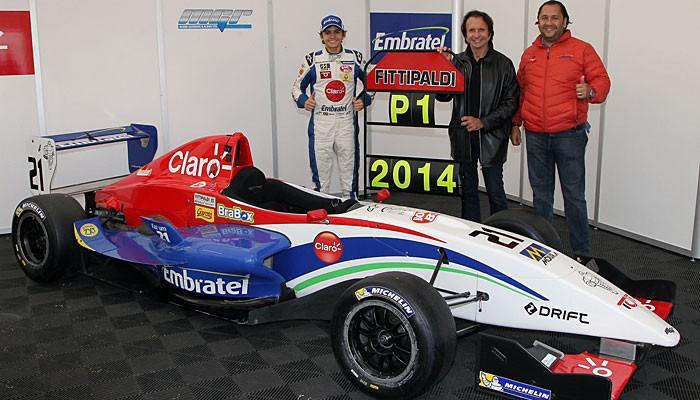 Encontro de Emerson Fittipaldi e Pietro Fittipaldi em Silverstone