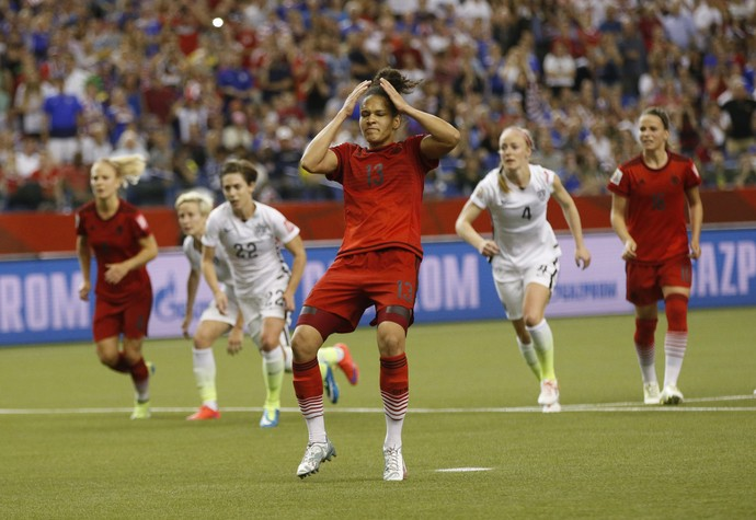Sasic pênalti Alemanha x Estados Unidos Mundial Feminino (Foto: Reuters)