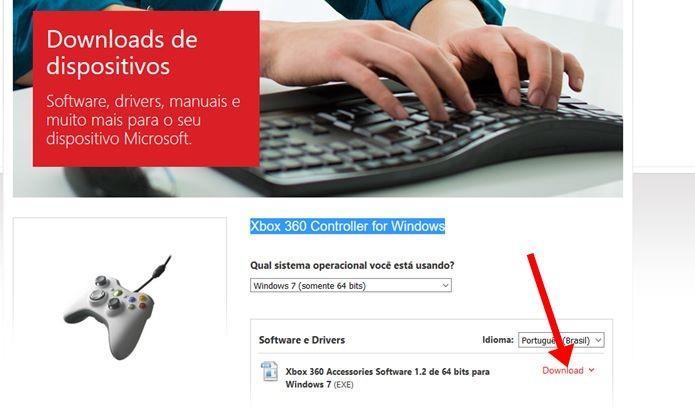 Selecione a opção conforme o a arquitetura do seu Windows 10 (Foto: Reprodução / Dario Coutinho)