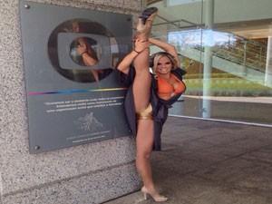 Uberlandense sempre sonhou em dançar no balé do Faustão (Foto: Reprodução Redes Sociais)