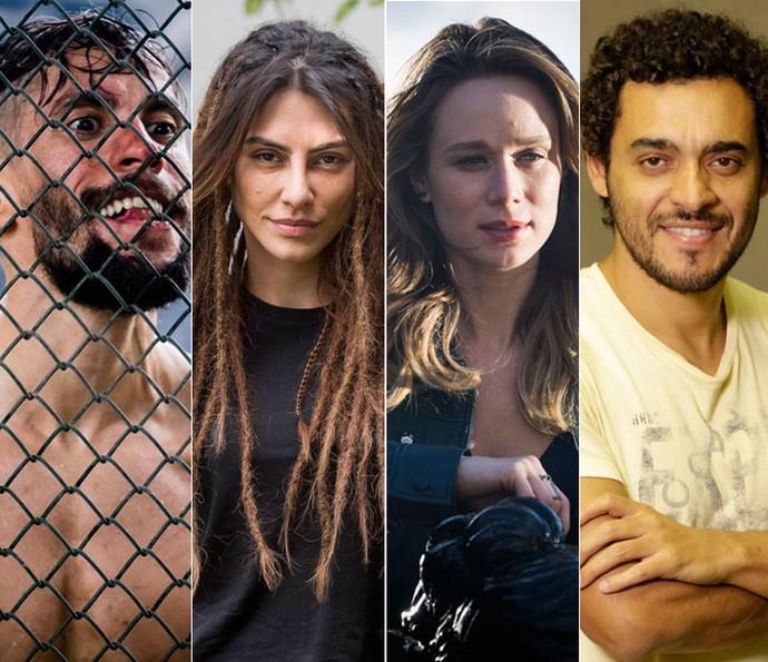 Confira o elenco de Supermax (Foto: Globo/Tata Barreto/João Miguel Junior/Cauiá Franco/Felipe Monteiro)