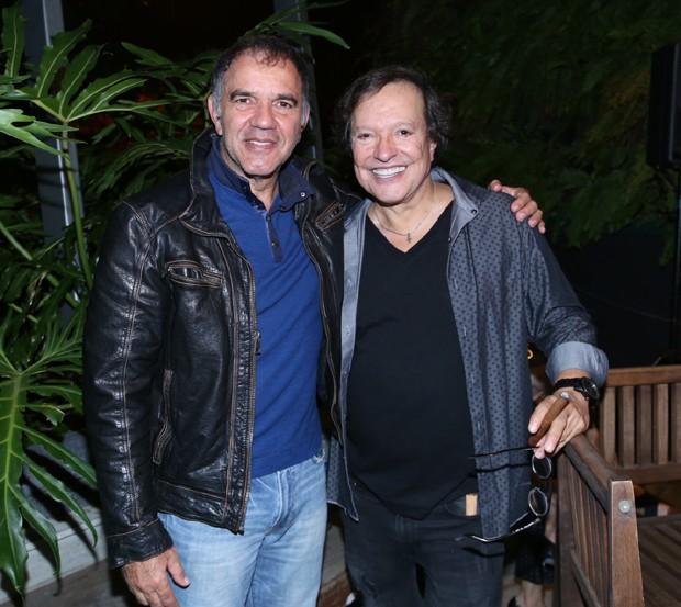 Humberto Martins e Wolf Maya (Foto: Anderson Borde/Agnews)