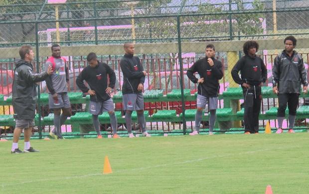 treino Vasco (Foto: André Casado / GLOBOESPORTE.COM)