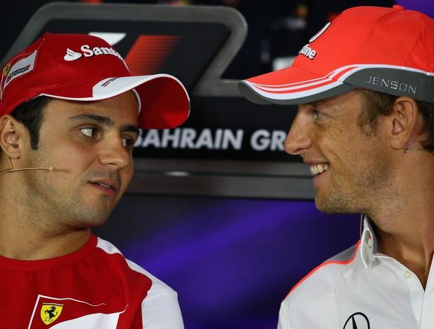 Se ocupar a vaga de Sergio Pérez, Massa poderá pilotar ao lado de Jenson Button em 2014 (Foto: Getty Images)