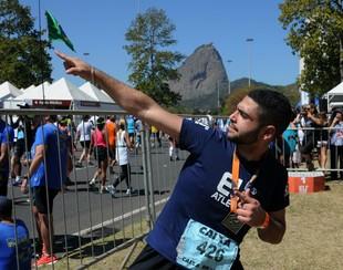euatleta meia maratona do rio marco (Foto: André Durão)
