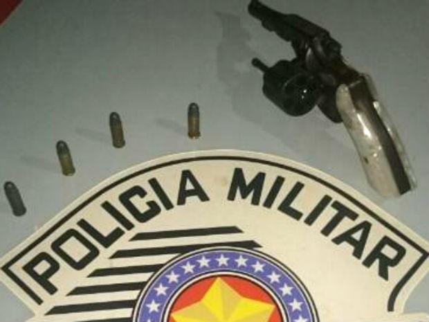 Segundo a polícia, ladrões renderam vítimas usando uma arma (Foto: Polícia Militar/Divulgação)