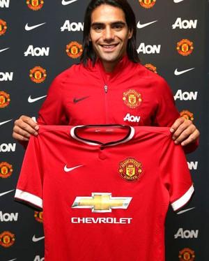 Falcao Garcia ,Manchester United (Foto: Reprodução / Twitter)