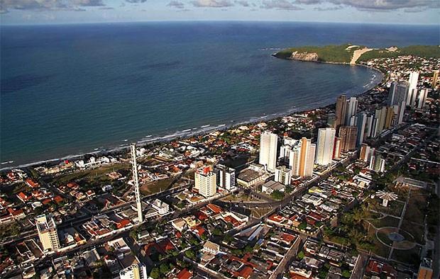 Praia de Ponta Negra, em Natal (Foto: Canindé Soares)