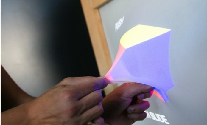 No futuro, monitores poderão criar formas reais (Foto: Divulgação/Ghost) (Foto: No futuro, monitores poderão criar formas reais (Foto: Divulgação/Ghost))