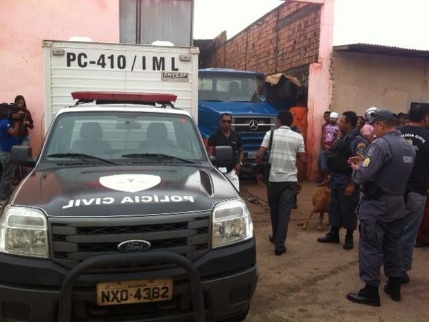 Acidente ocorreu no início da tarde desta segunda-feira (29) (Foto: Giovanni Spinucci/TV Mirante)