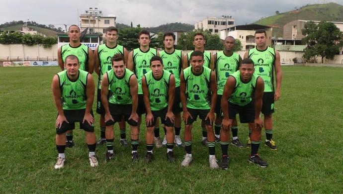 Jogadores apresentados pelo Castelo (Foto: Divulgação)
