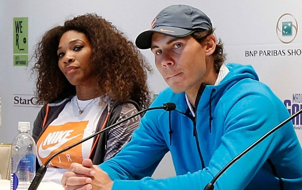 Rafael Nadal e Serena Williams tentam vencer US Open para coroar ano fantástico (Foto: Getty Images)