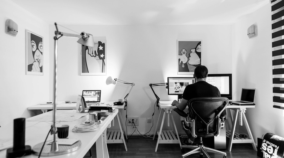 Home office, escritório, trabalho, emprego, freelancer (Foto: Reprodução/Pexels)
