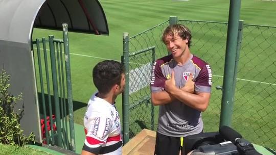 Ceni não define time do São Paulo, e medalhista de ouro visita o CT