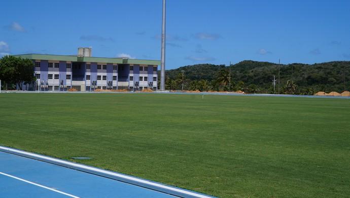 Instalações esportivas da UFRN, em Natal, para a Copa do Mundo (Foto: Augusto Gomes)