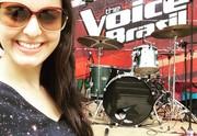 Allice Tirolla The Voice Brasil (Foto: Reprodução/ RPC)