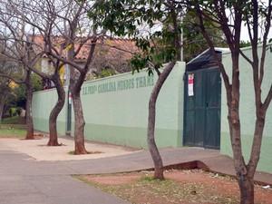 Mulher faz BO após filho apanhar em sala de aula em Piracicaba (Foto: Fernanda Zanetti/G1)