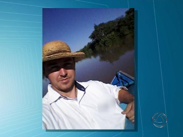 Pecuarista foi assassinado em assalto em Campo Grande (Foto: Reprodução/ TV Morena)
