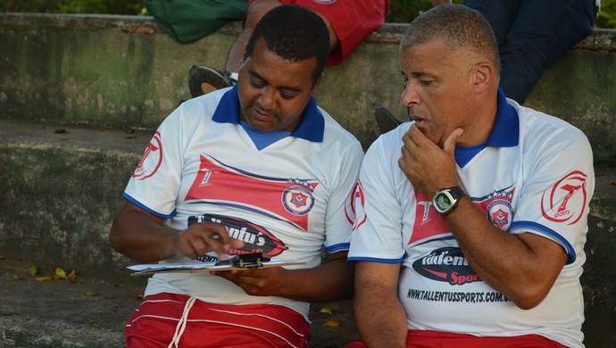 Vidal e Luciano escolhem atletas pro Rondoniense Sub-20 (Foto: Jonatas Boni)