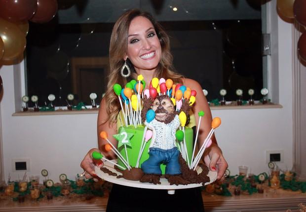 Carol Borba, amiga de Latino, organizou a comemoração (Foto: Celso Tavares/EGO)