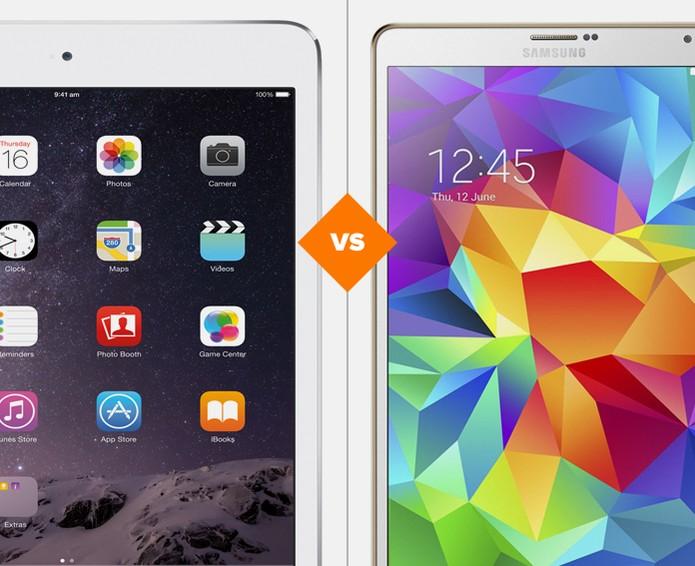 iPad mini 3 ou Galaxy Tab S? Confira a melhor opção no comparativo do TechTudo (Foto: Arte/TechTudo)