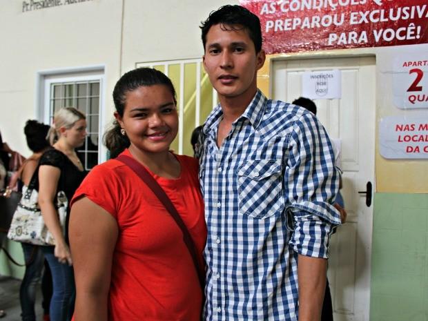 """Casal jovem segue princípios dos movimentos """"Eu Escolhi Esperar"""" e """"Entre Príncipes e Princesas"""", em Manaus (Foto: Adneison Severiano G1/AM)"""