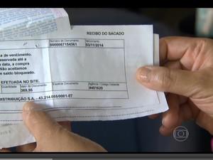 BOLETO (Foto: TV Globo)