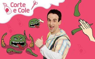 Corte e Cole: Monstro de Massinha