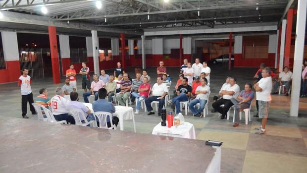 Conselheiros do Sergipe (Foto: João Áquila/GLOBOESPORTE.COM)