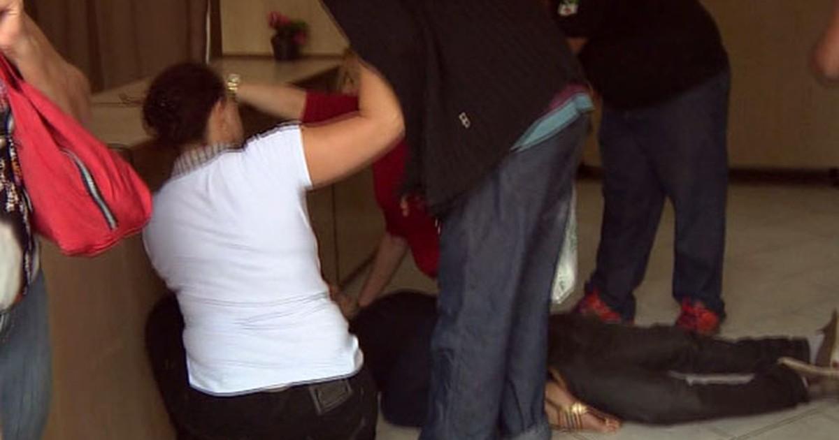 Imagens mostram momento em que vítimas foram baleadas em ... - Globo.com