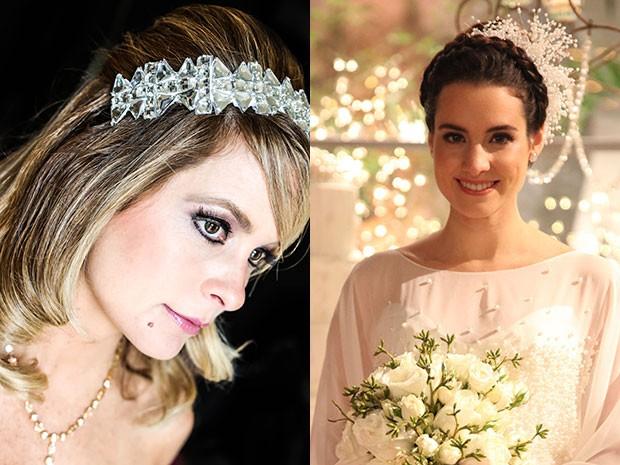 A linda Pamela e a romântica Lara. Dois makes que arrasaram em 'Geração' (Foto: Pedro Curi e Aline Kraz/GShow)