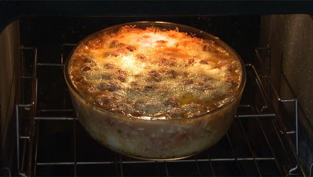 Torta de Mandioca com Tilápia é uma das receitas finalistas do Concurso (Foto: Reprodução/RPC)