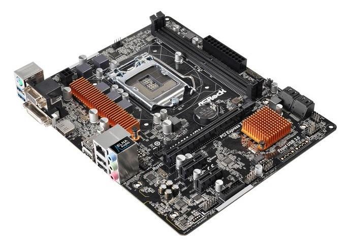 Modelo da AsRock é compatível com memórias DDR4 (Foto: Divulgação/AsRock)