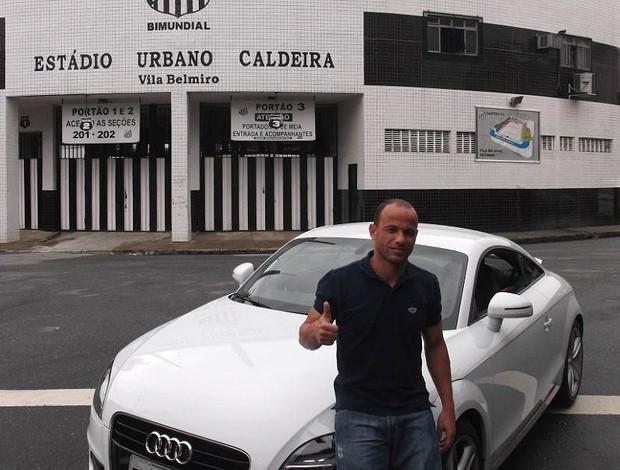 Léo Santos Audi TT (Foto: Divulgação)