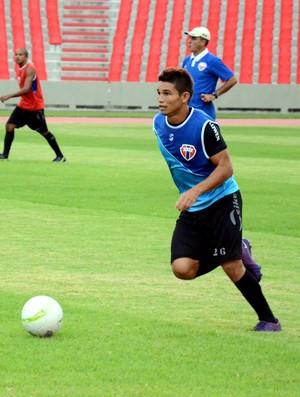 Luís Jorge, lateral-esquerdo do Maranhão (Foto: Paulo de Tarso Jr./Imirante)