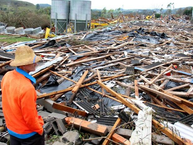 Prefeitura estima prejuízo de R$ 5 milhões no município de Francisco Beltrão (Foto: Prefeitura de Francisco Beltrão/ Divulgação)