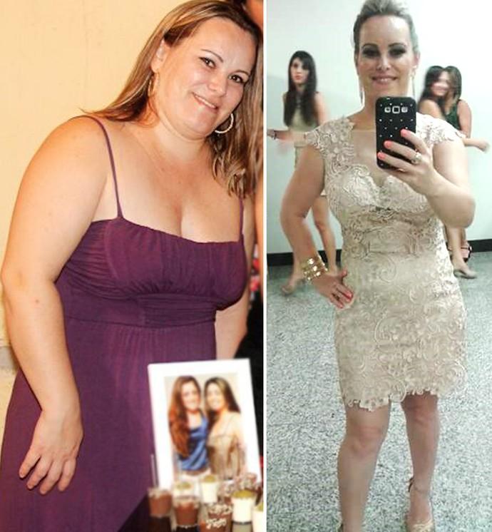 Para ver a filha crescer, prudentina adere a rotina saudável e elimina 14kg (Foto: Luci Mara Fransoso / Arquivo pessoal)