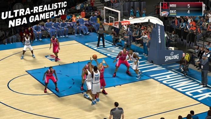 NBA2K15 tem gráficos incríveis e movimentação realista (Foto: Divulgação) (Foto: NBA2K15 tem gráficos incríveis e movimentação realista (Foto: Divulgação))