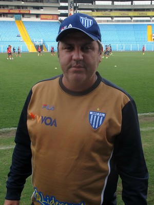 Gilson Kleina Avaí especial (Foto: Marcelo Hazan)