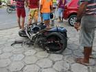 Motociclista morre em acidente na Avenida Autaz Mirim, em Manaus