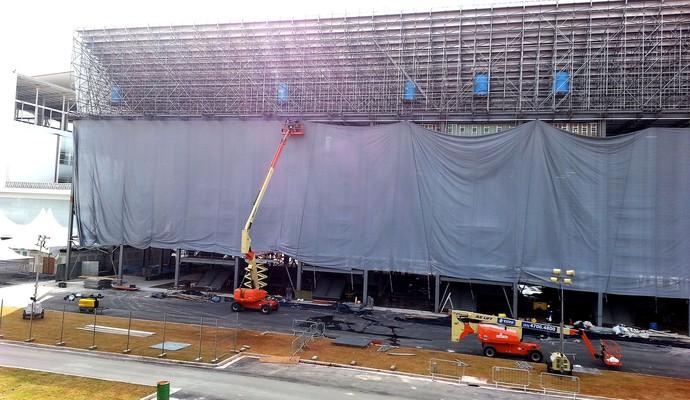 obras estádio Arena Corinthians jogo Copa do Mundo (Foto: Rodrigo Faber)