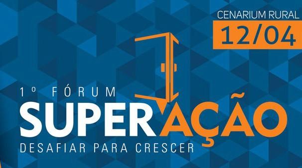 TV Centro América realiza o 1º Fórum de SuperAção em Cuiabá (Foto: Reprodução/ Marketing TVCA)