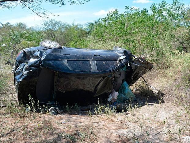 Acidente BR-407, na Bahia (Foto: Portal Jaguari)