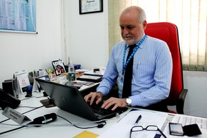 Ricardo Mendes, diretor regional da TV Acre (Foto: João Paulo Maia)