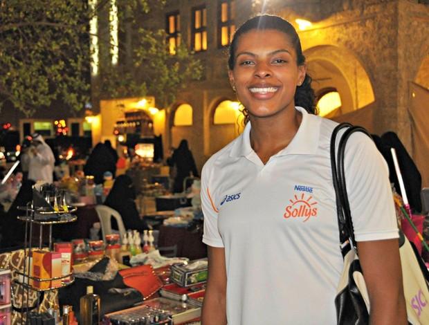 Fernanda Garay vôlei Doha (Foto: Alessandra Ribeiro/Divulgação)